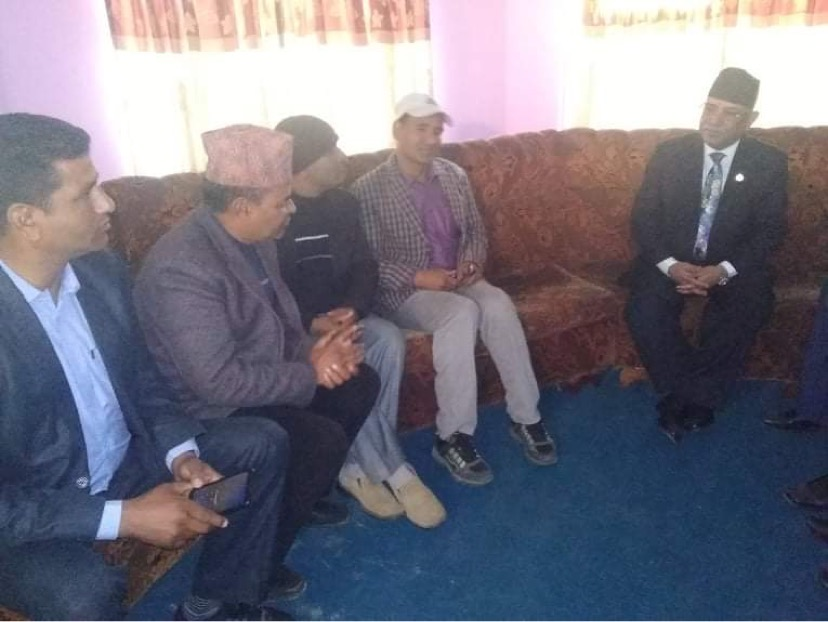Meeting with Former Prime Minister of Nepal Pushpa Kamal Dahal